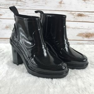 Hunter penny loafer rain boots